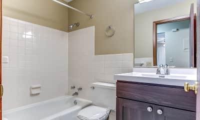 Bathroom, Cottage Terrace Apartments, 2