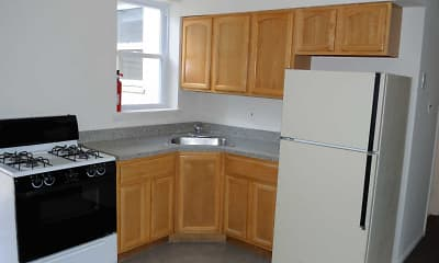 Kitchen, Keystone Village and Penn Street Apartments, 2