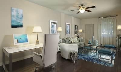 Living Room, Camden Boca Raton, 1