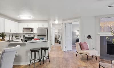 Living Room, Centro Apartments, 1