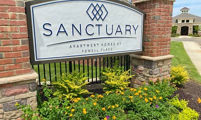 Community Signage, Sanctuary at Powell Place, 2