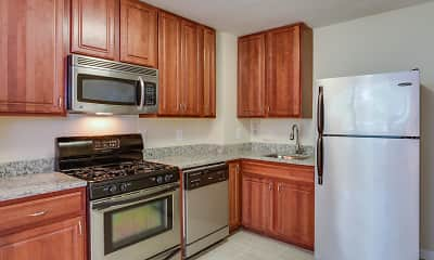 Kitchen, Park East Apartments, 0