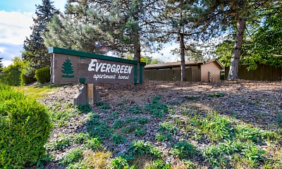 Community Signage, Evergreen Apartments, 2