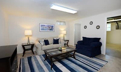 Living Room, Walnut Grove Townhomes, 2