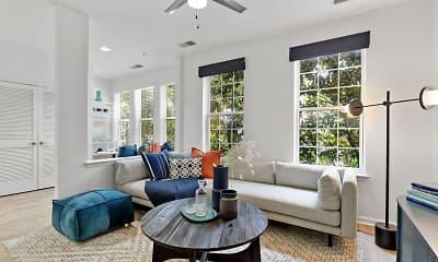 Living Room, Belmont Station, 1