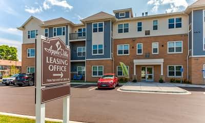 Building, Apple Villa Apartments II, 0