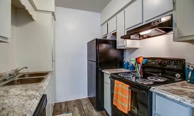 Kitchen, Desert Wind Apartments, 1