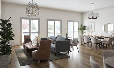 Living Room, Palmia 55+ Apartments, 1