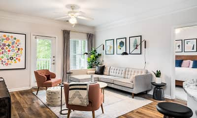 Living Room, Citra Luxury Apartments, 0