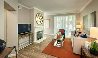Living Room, The Retreat At Cheyenne Mountain, 2