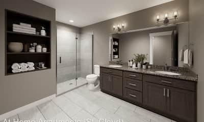 Bathroom, Arbor Trails, 2