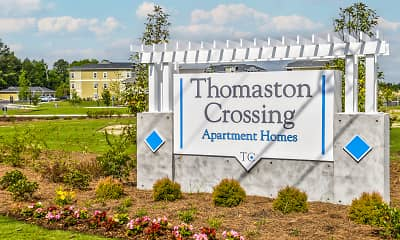 Community Signage, Thomaston Crossing Apartment Homes, 2