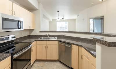 Kitchen, Archstone Fremont Center, 1