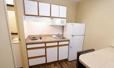 Kitchen, Furnished Studio - Austin - Arboretum - South, 1