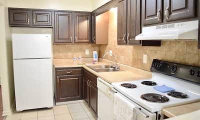Kitchen, Countrybrook Apartments, 1