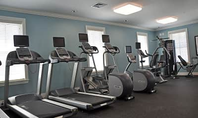 Fitness Weight Room, University Heights Apartments, 2