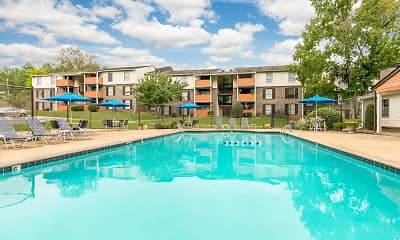 Pool, Crestwood Green at 701 Apartments, 0