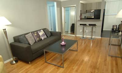 Living Room, Metropolitan Flats, 1