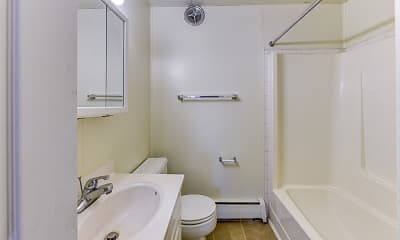 Bathroom, Winthrop Terrace, 2