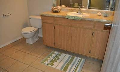 Bathroom, Pomona Townhomes, 2