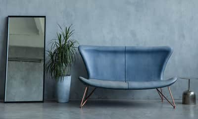 Living Room, River West Flats, 2