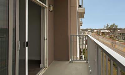 Patio / Deck, 4th Street Lofts, 2