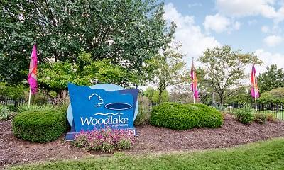 Community Signage, Woodlake Apartments of Indianapolis, 0