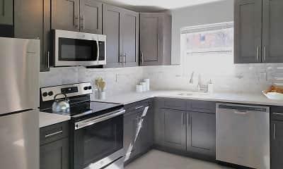 Kitchen, Sparta Apartments, 0