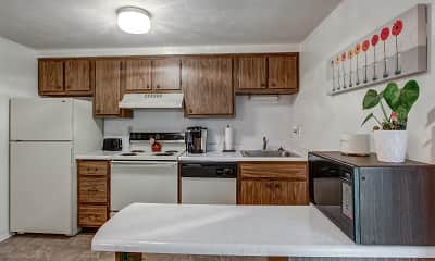 Kitchen, Walnut Ridge Townhomes, 1