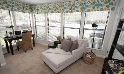 Living Room, Chatsworth Apartments, 1