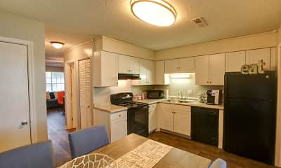 Kitchen, Northlake Townhomes, 1
