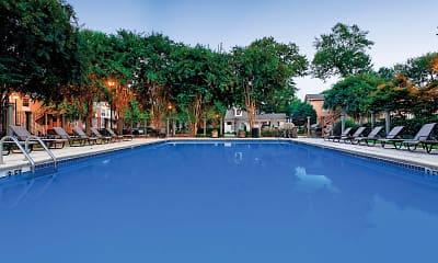 Pool, Peachtree Park Apartments, 0