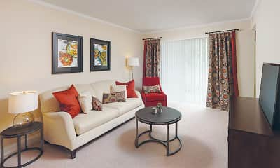 Living Room, The Apartments at The Sycamores, 1
