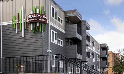 Building, Cedars 94 Apartments, 2