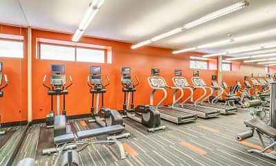Fitness Weight Room, Half Moon Harbour Apartments, 2