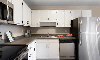 Kitchen, Axon Green, 0