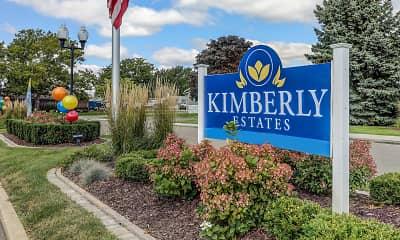 Community Signage, Kimberly Estates, 2