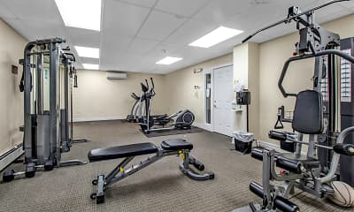 Fitness Weight Room, 1040 Delaware, 1