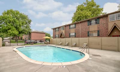 Pool, Village Gardens Apartments, 1