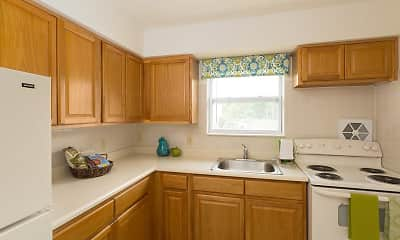 Kitchen, Mansfield Village Apartments, 0