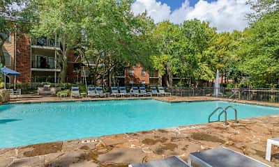 Pool, Foundations at River Crest & Lions Head Apartments, 1