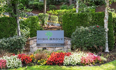 Community Signage, HighGrove Apartments, 2