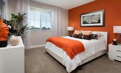 Bedroom, The Boulevard Apartments, 2