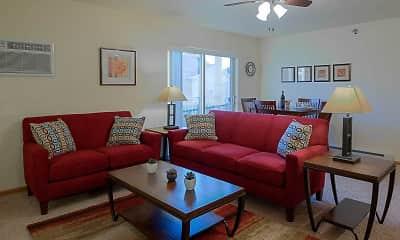 Living Room, Meadow Ridge, 1