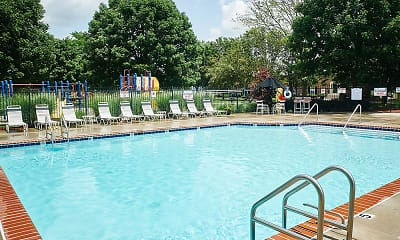 Pool, Ashmore Trace Apartments of Greenwood, 2