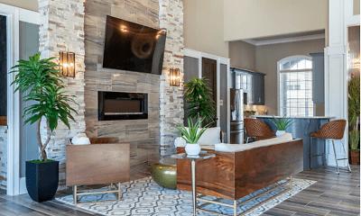 Living Room, Grove Park Apartments, 1