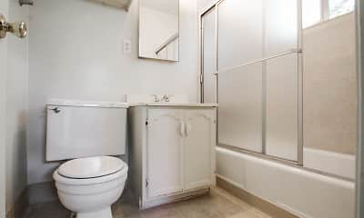 Bathroom, Mar Vista Apartments, 2