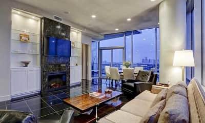 Living Room, 77098 Luxury Properties, 1