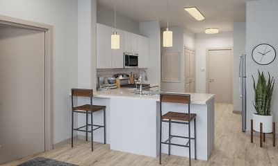 Kitchen, The Finmore at 241, 1