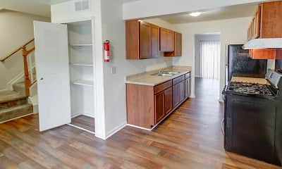 Kitchen, Midtown Park Apartments, 1